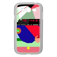 Abstract train Samsung Galaxy Grand DUOS I9082 Case (White)