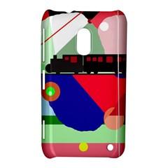 Abstract train Nokia Lumia 620