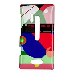 Abstract train Nokia Lumia 928