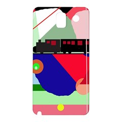 Abstract train Samsung Galaxy Note 3 N9005 Hardshell Back Case