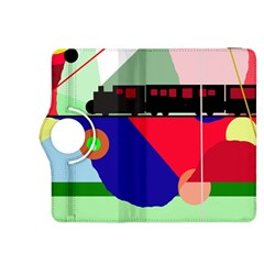 Abstract train Kindle Fire HDX 8.9  Flip 360 Case