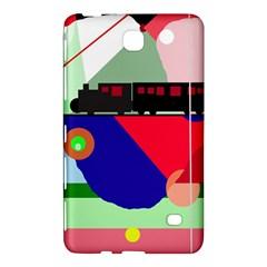 Abstract train Samsung Galaxy Tab 4 (7 ) Hardshell Case