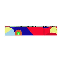 Abstract train Flano Scarf (Mini)