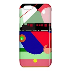 Abstract train iPhone 6/6S TPU Case
