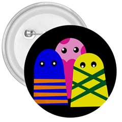 Three monsters 3  Buttons