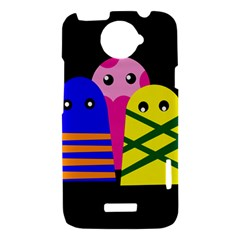 Three monsters HTC One X Hardshell Case