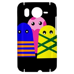 Three monsters HTC Desire HD Hardshell Case