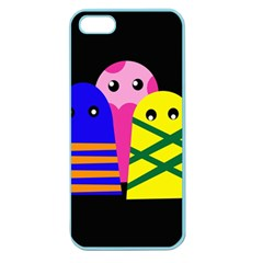 Three monsters Apple Seamless iPhone 5 Case (Color)