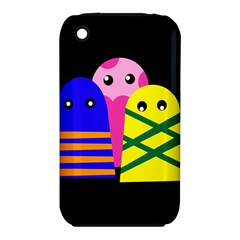 Three monsters Apple iPhone 3G/3GS Hardshell Case (PC+Silicone)