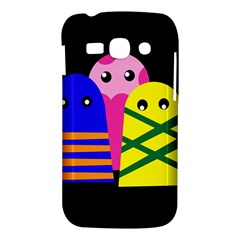Three monsters Samsung Galaxy Ace 3 S7272 Hardshell Case
