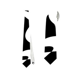 Black and white elegant pattern Neckties (Two Side)