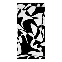 Black and white elegant pattern Shower Curtain 36  x 72  (Stall)