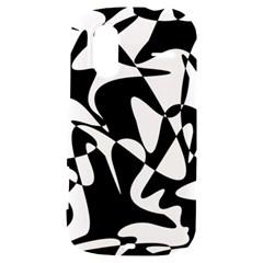 Black and white elegant pattern HTC Amaze 4G Hardshell Case