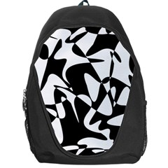 Black and white elegant pattern Backpack Bag