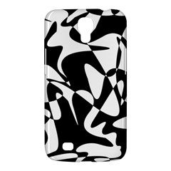 Black and white elegant pattern Samsung Galaxy Mega 6.3  I9200 Hardshell Case