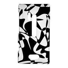 Black and white elegant pattern Nokia Lumia 928