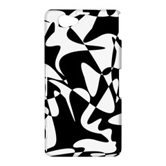 Black and white elegant pattern Sony Xperia Z1 Compact