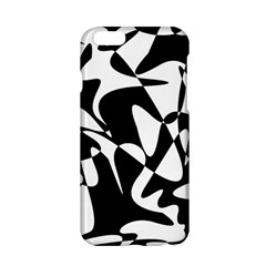 Black and white elegant pattern Apple iPhone 6/6S Hardshell Case
