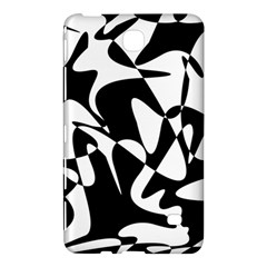 Black and white elegant pattern Samsung Galaxy Tab 4 (8 ) Hardshell Case