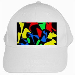 Colorful abstraction White Cap
