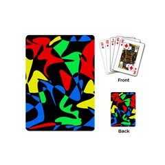 Colorful abstraction Playing Cards (Mini)