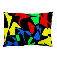 Colorful abstraction Pillow Case (Two Sides)