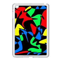 Colorful abstraction Apple iPad Mini Case (White)