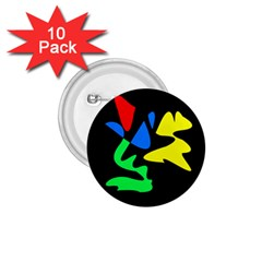 Colorful abstraction 1.75  Buttons (10 pack)