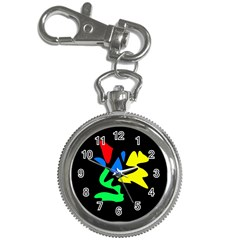 Colorful abstraction Key Chain Watches