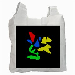 Colorful abstraction Recycle Bag (Two Side)