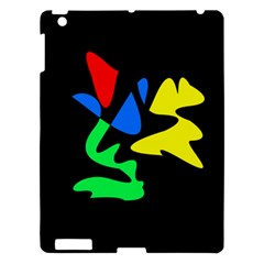 Colorful abstraction Apple iPad 3/4 Hardshell Case