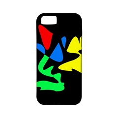 Colorful abstraction Apple iPhone 5 Classic Hardshell Case (PC+Silicone)