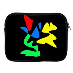 Colorful abstraction Apple iPad 2/3/4 Zipper Cases