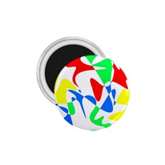 Colorful abstraction 1.75  Magnets
