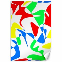 Colorful abstraction Canvas 20  x 30