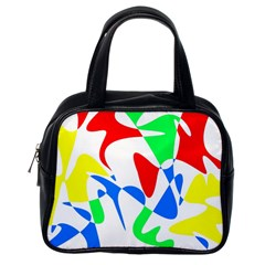 Colorful abstraction Classic Handbags (One Side)