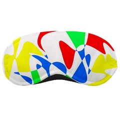 Colorful abstraction Sleeping Masks