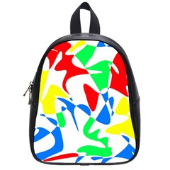 Colorful abstraction School Bags (Small)
