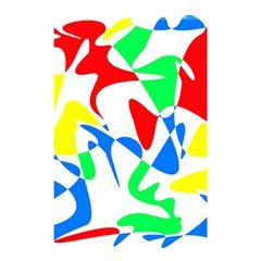 Colorful abstraction Shower Curtain 48  x 72  (Small)