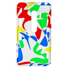 Colorful abstraction HTC Evo 3D Hardshell Case