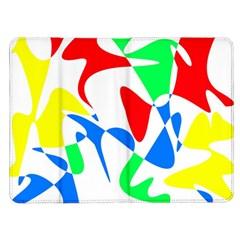 Colorful abstraction Kindle Fire (1st Gen) Flip Case