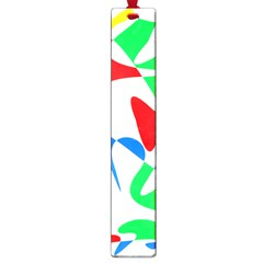 Colorful abstraction Large Book Marks