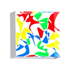 Colorful abstraction 4 x 4  Acrylic Photo Blocks