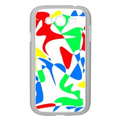 Colorful abstraction Samsung Galaxy Grand DUOS I9082 Case (White)