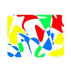 Colorful abstraction Double Sided Flano Blanket (Mini)