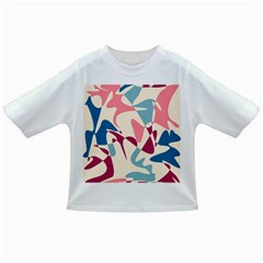 Blue, pink and purple pattern Infant/Toddler T-Shirts