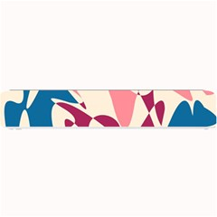 Blue, pink and purple pattern Small Bar Mats
