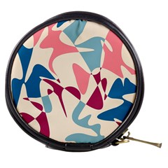 Blue, pink and purple pattern Mini Makeup Bags