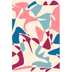 Blue, pink and purple pattern 5.5  x 8.5  Notebooks