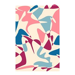 Blue, pink and purple pattern Shower Curtain 48  x 72  (Small)